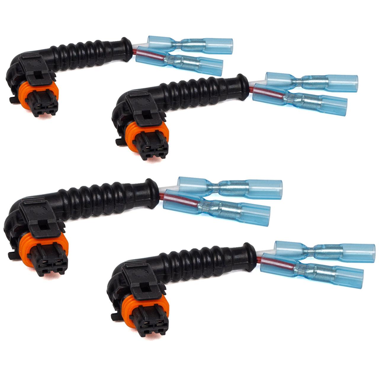 4x Kabel Rep.-Satz mit Stecker für Einspritzdüse Jumper Ducato Boxer 2.8 DIESEL