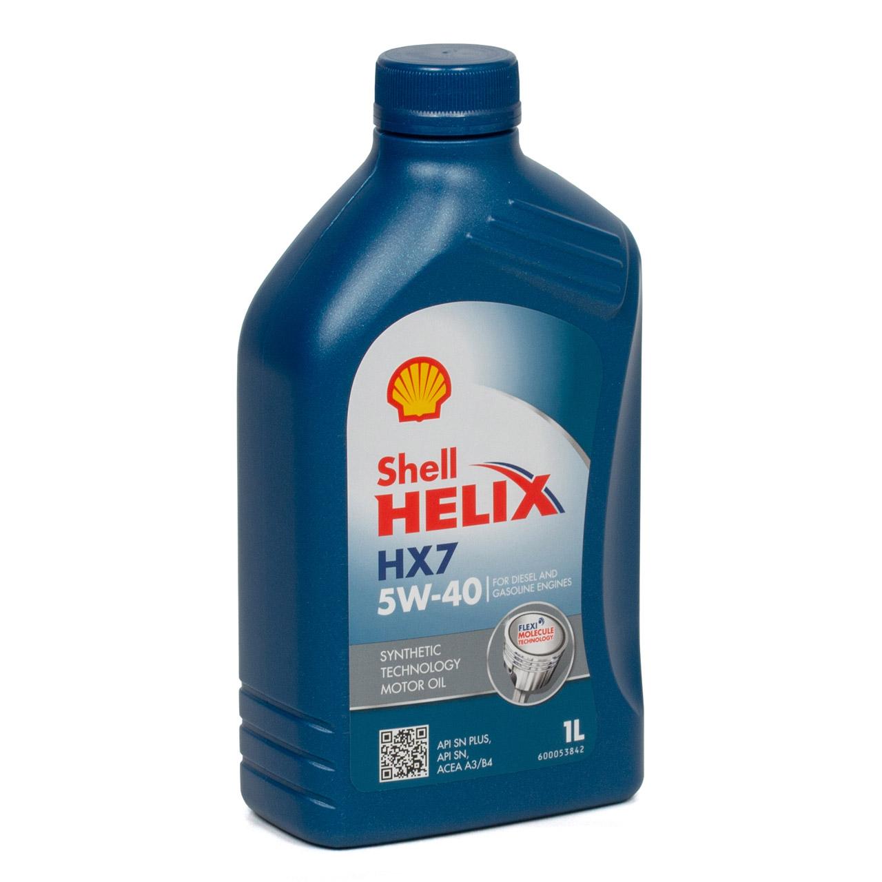 SHELL Motoröl Öl HELIX HX7 5W-40 5W40 MB 229.3 VW 502.00 505.00 - 7L 7 Liter
