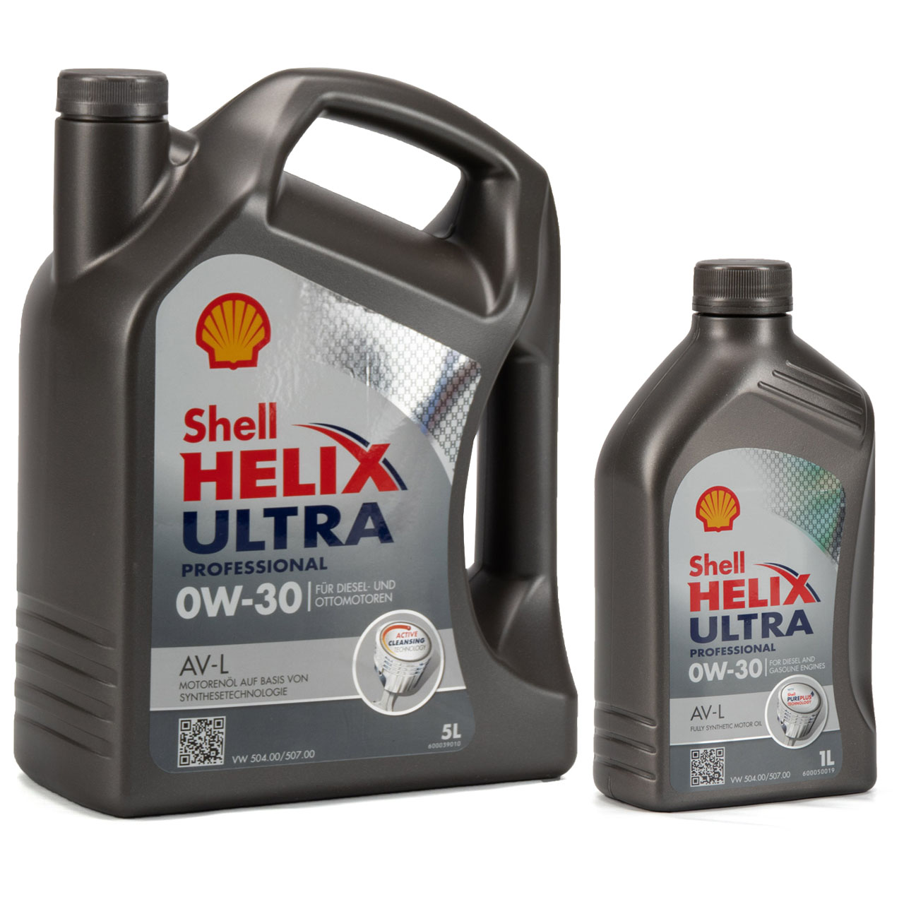 SHELL Motoröl Öl HELIX ULTRA Professional AV-L 0W30 VW 504.00/507.00 - 6 Liter