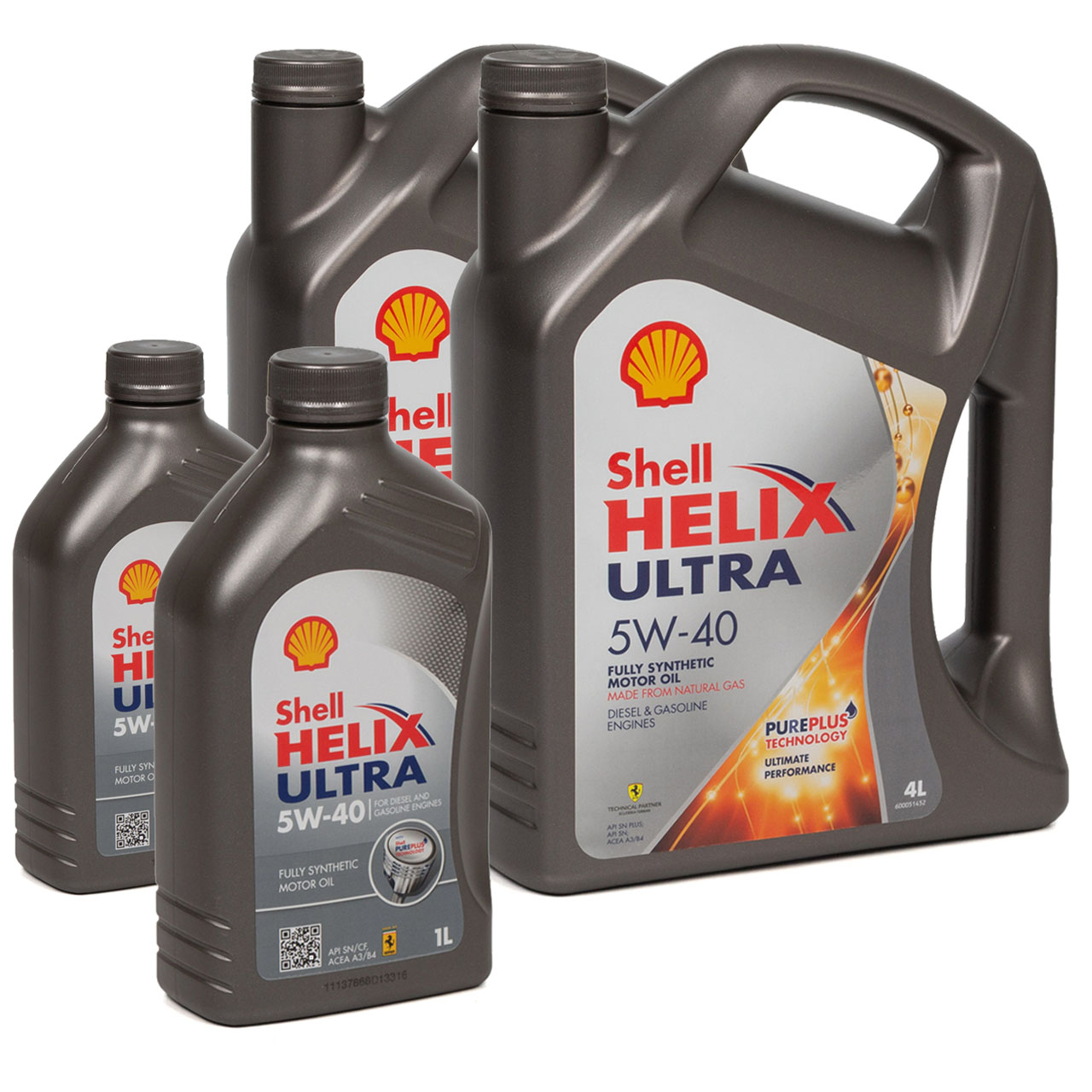 SHELL Motoröl Öl HELIX ULTRA 5W-40 5W40 MB 226/229.5 VW 502/505.00 - 10 Liter