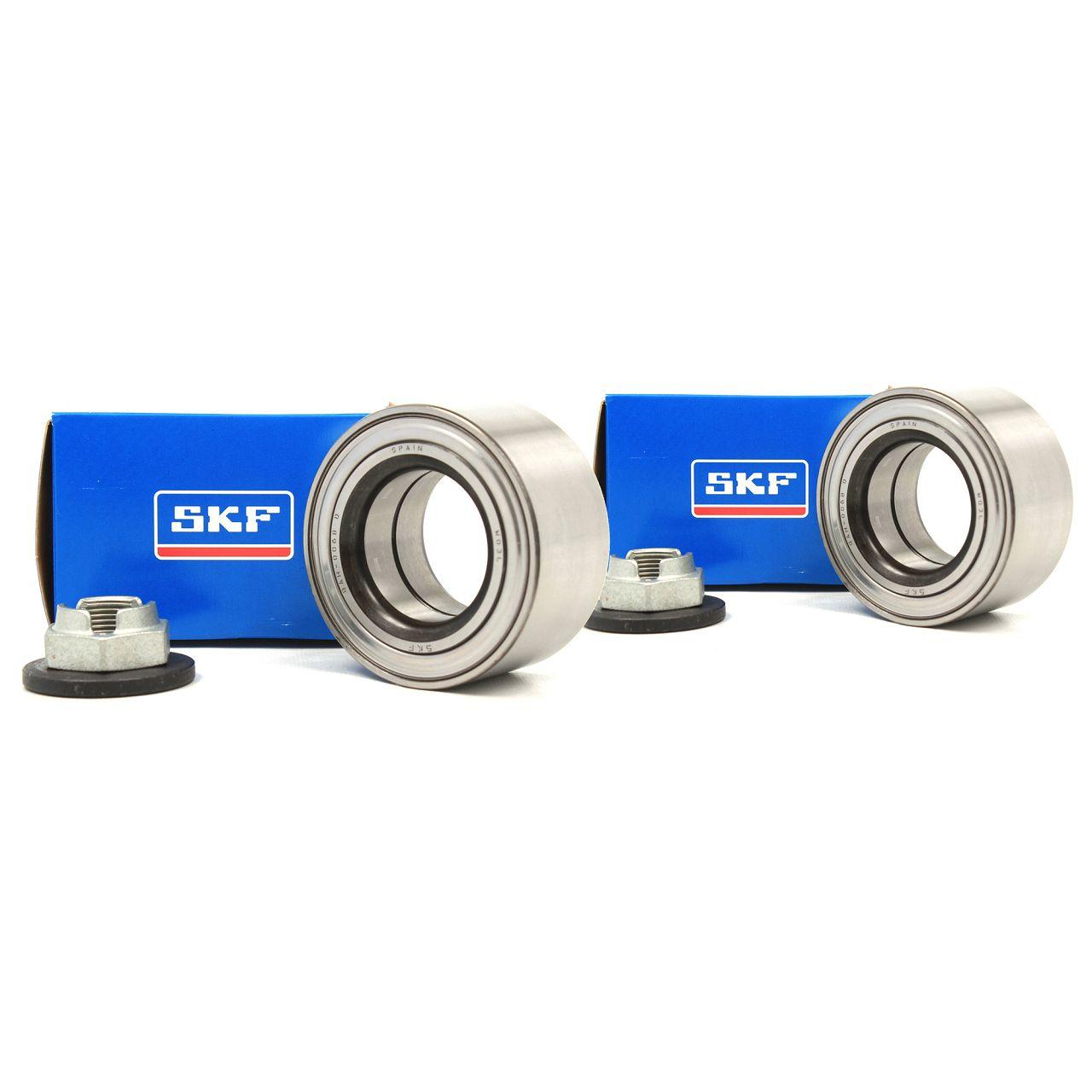 2x SKF Radlager Rep.-Satz für FORD MONDEO III MK3 JAGUAR X-TYPE vorne VKBA3575