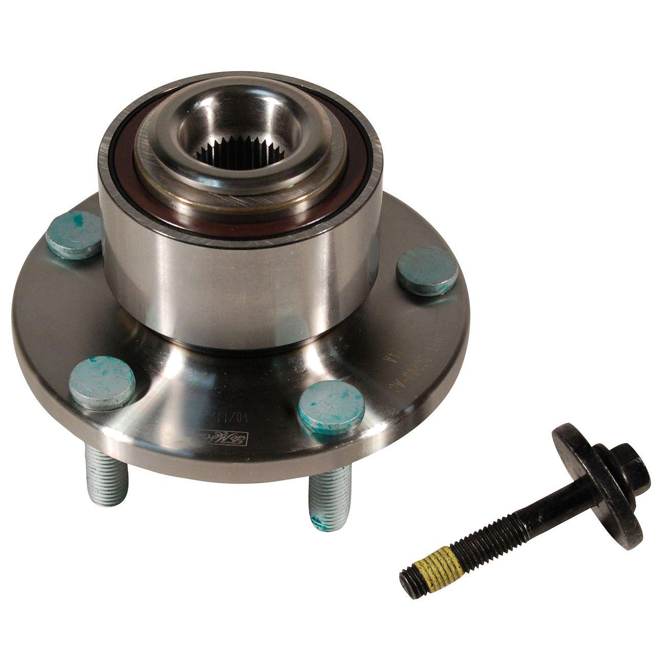 2x SNR Radnabe Radlager + ABS Sensor FORD Focus C-Max Focus 2 MK2 vorne