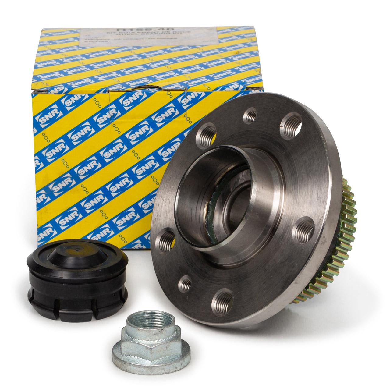 SNR R155.48 Radlagersatz RENAULT Espace II 2.8 V6 mit ABS hinten 6025171137