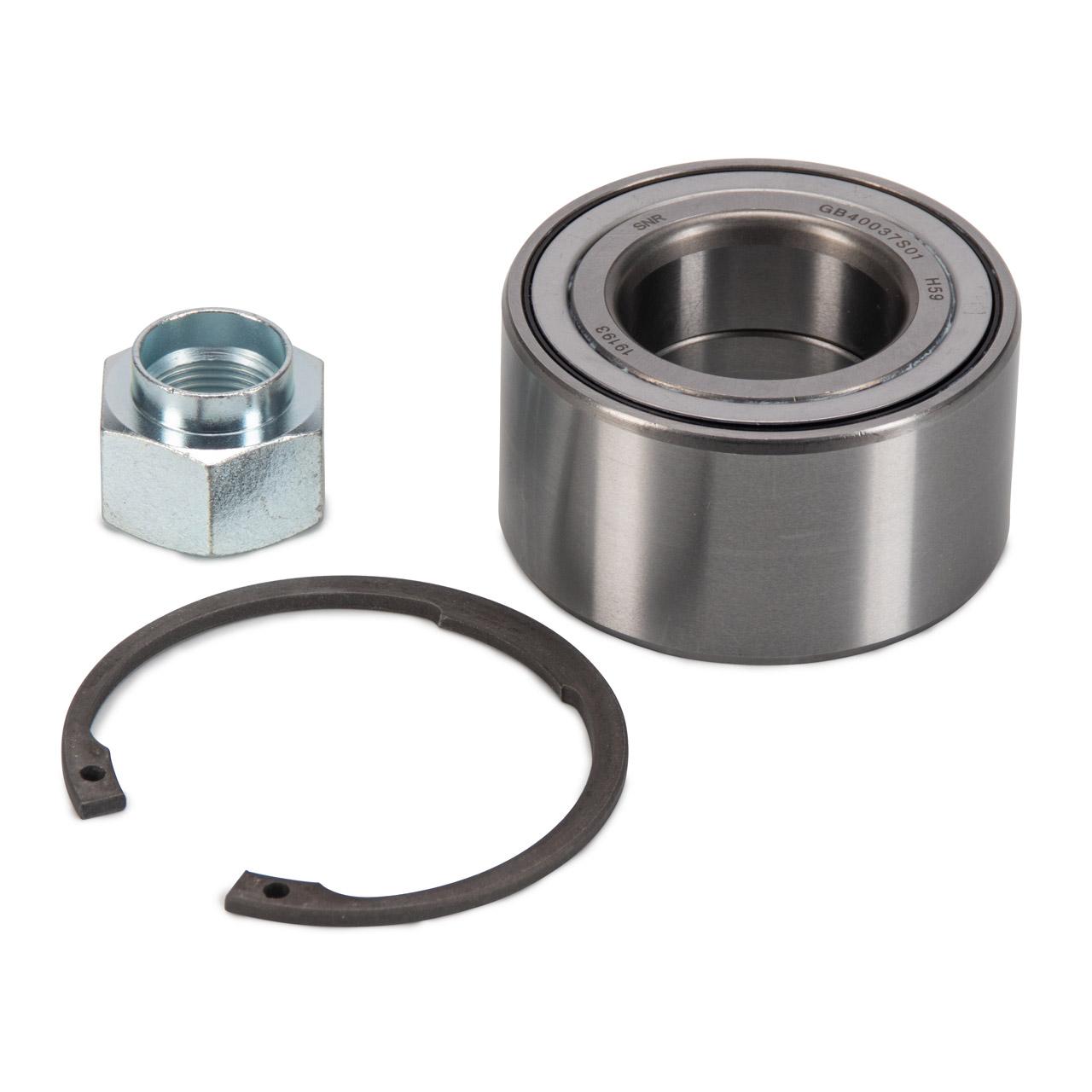 2x SNR R184.55 Radlagersatz CHEVROLET / DAEWOO Lacetti Nubira vorne / hinten