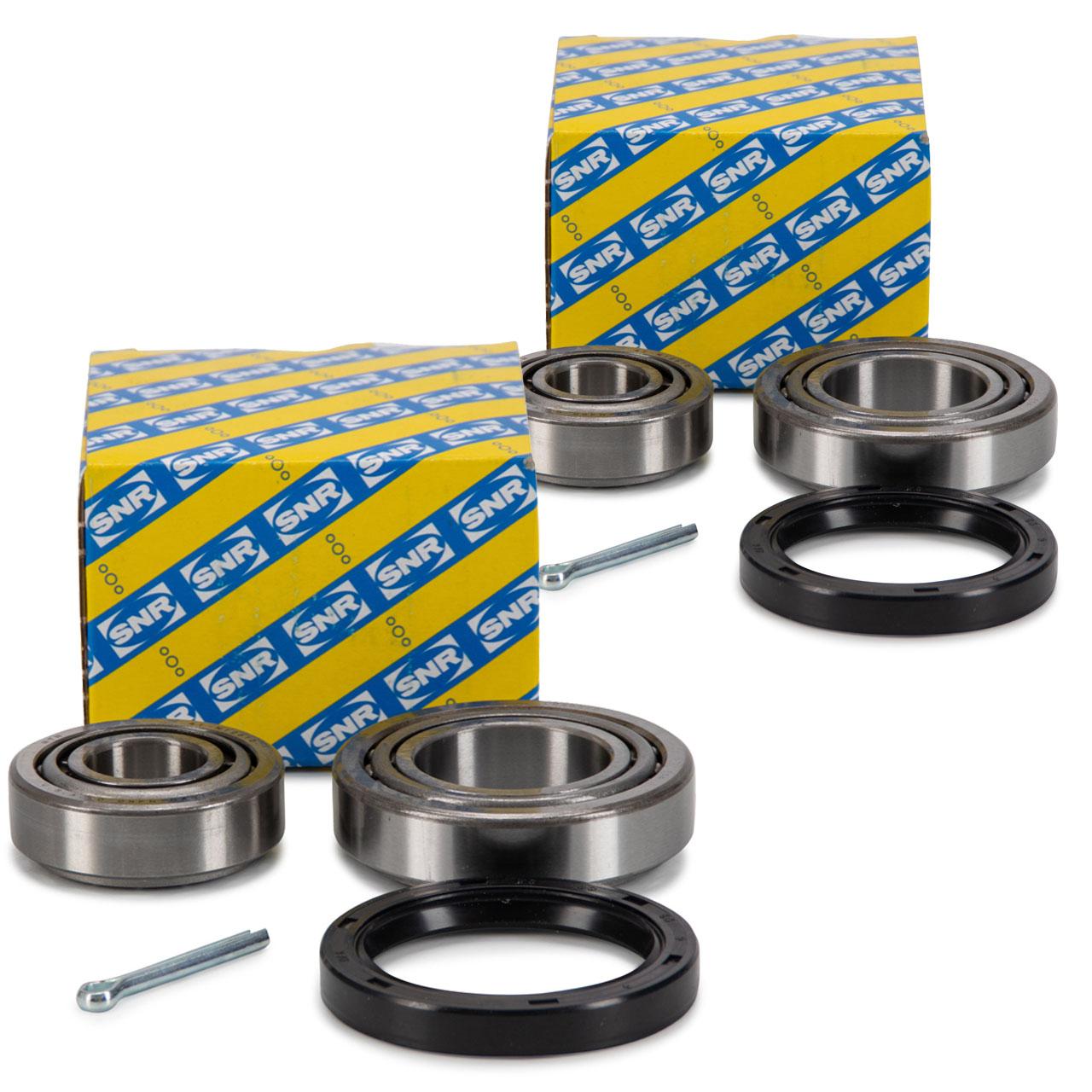 2x SNR R140.34 Radlagersatz HYUNDAI H-1 / Starex H100 MITSUBISHI L 200 L 300 L 400 vorne
