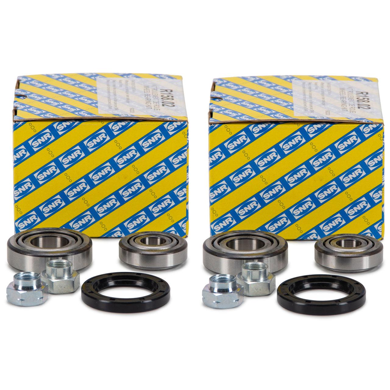 2x SNR R158.02 Radlagersatz FIAT 126 (126_) 600 850 SEAT 133 600 D vorne