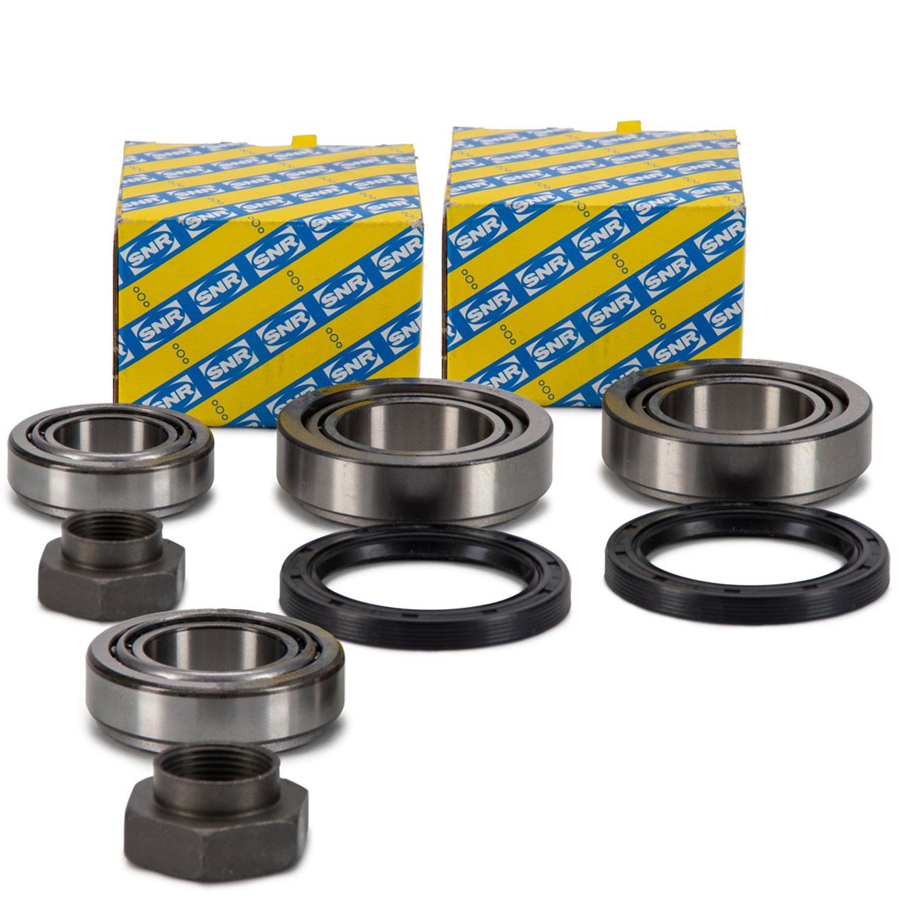 2x SNR R154.22 Radlagersatz Radlager VW LT 28-35 I + LT 40-55 I vorne 291498625