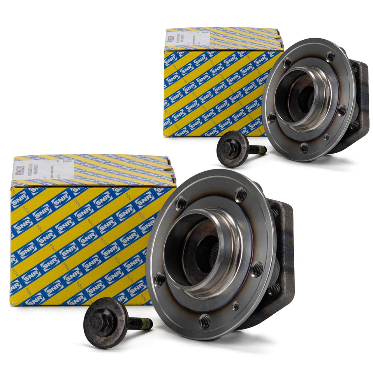 2x SNR R165.26 Radlagersatz VOLVO C70 I S70 V70 I XC70 Cross Country vorne