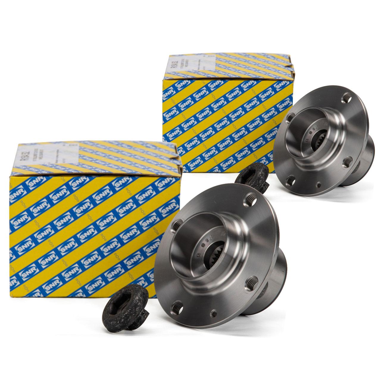 2x SNR R154.52 Radlagersatz AUDI A2 1.2 TDI VW Lupo 1.2 TDI 3L vorne 6E0407621C
