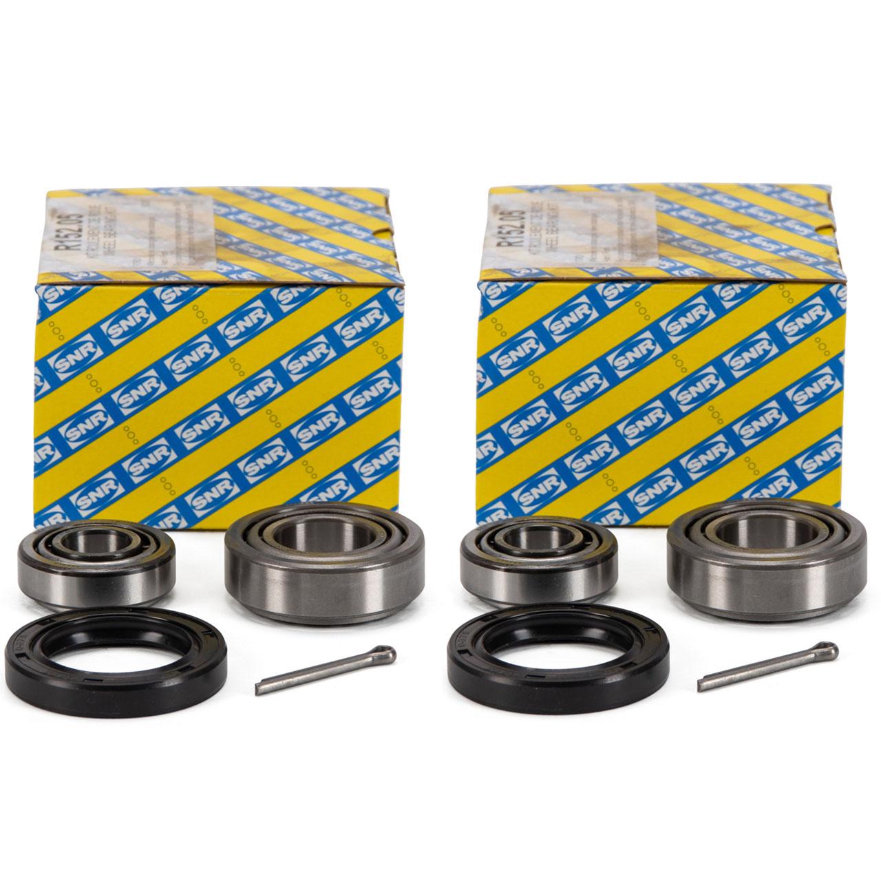 2x SNR R152.05 Radlagersatz FORD Capri 2 3 1.6-2.8i Turbo Escort 2 2.0 RS vorne