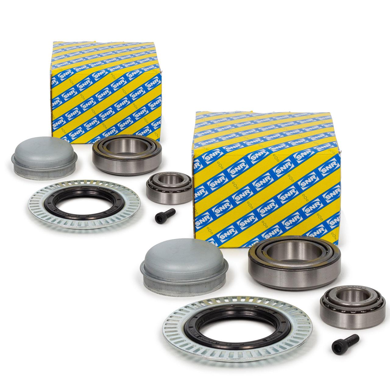 2x SNR R151.35 Radlagersatz MERCEDES-BENZ E-/S-Klasse W211 S211 W220 C215 vorne