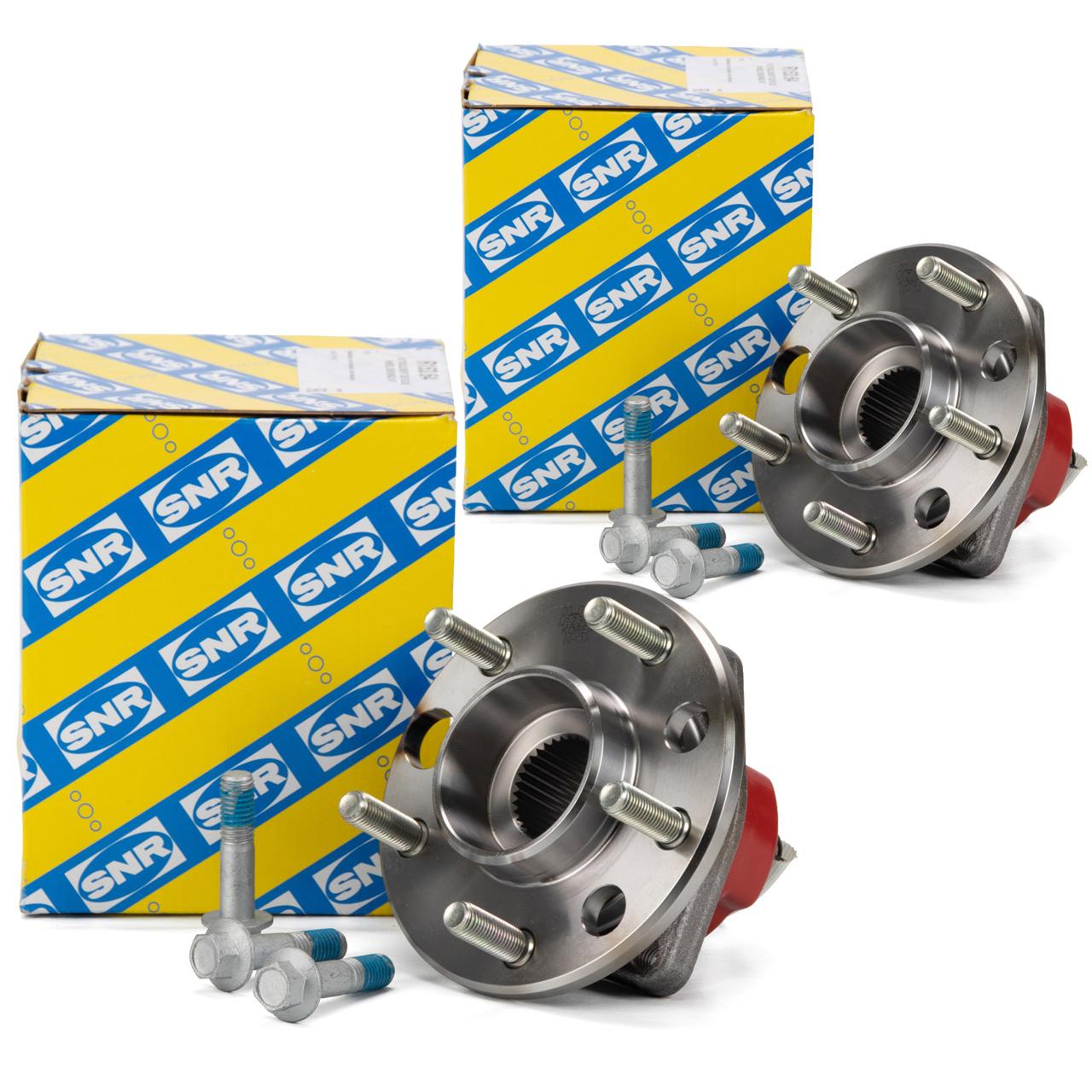 2x SNR R153.64 Radlagersatz Radlager Radnabe OPEL Sintra vorne 326002 / 326004