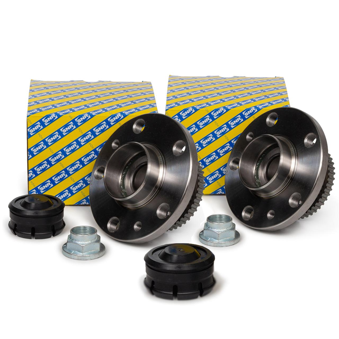 2x SNR R155.54 Radlagersatz RENAULT Avantime Espace 3 mit ABS hinten 6025370612