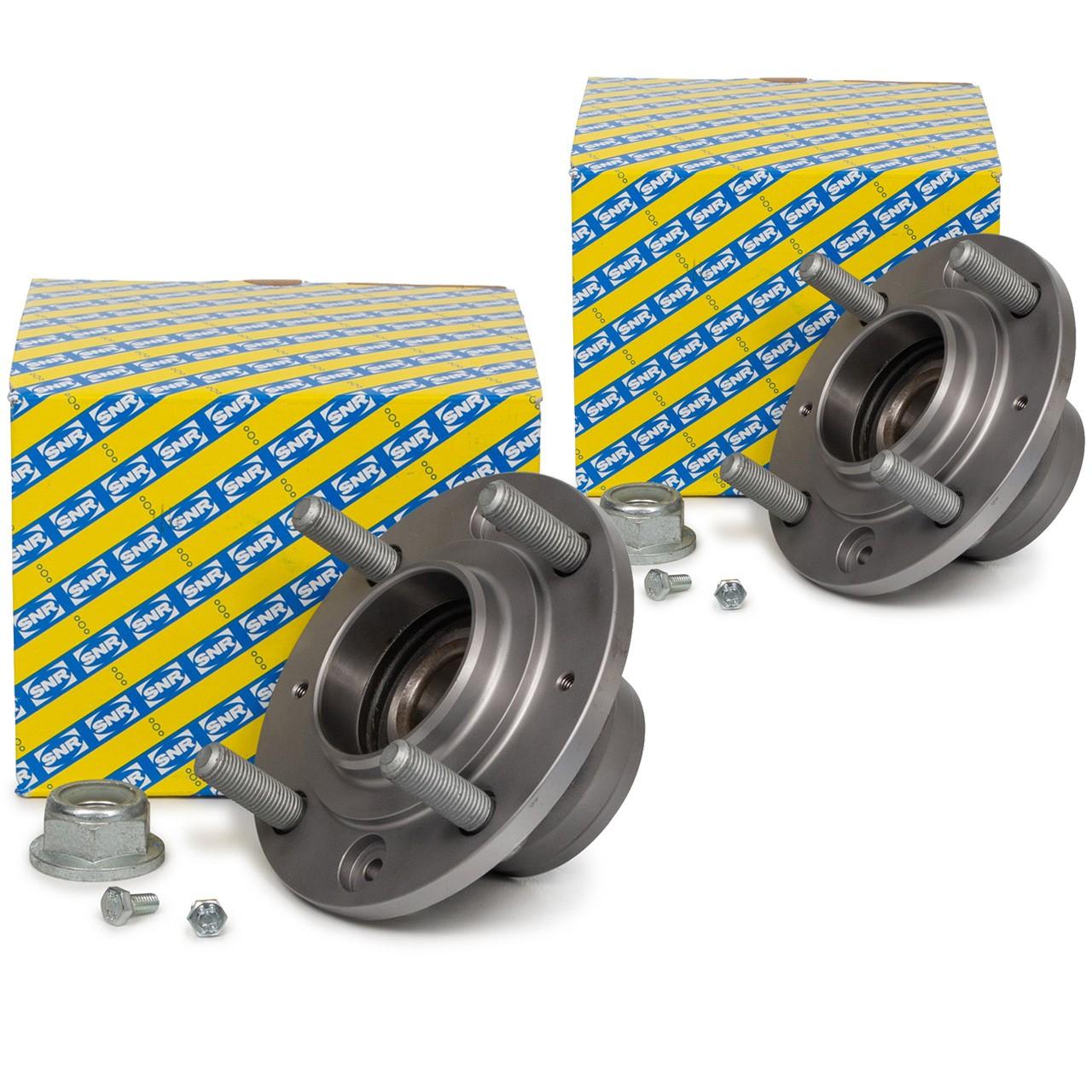 2x SNR R165.22 Radlagersatz Radnabe VOLVO S40 I (644) V40 Kombi (645) hinten