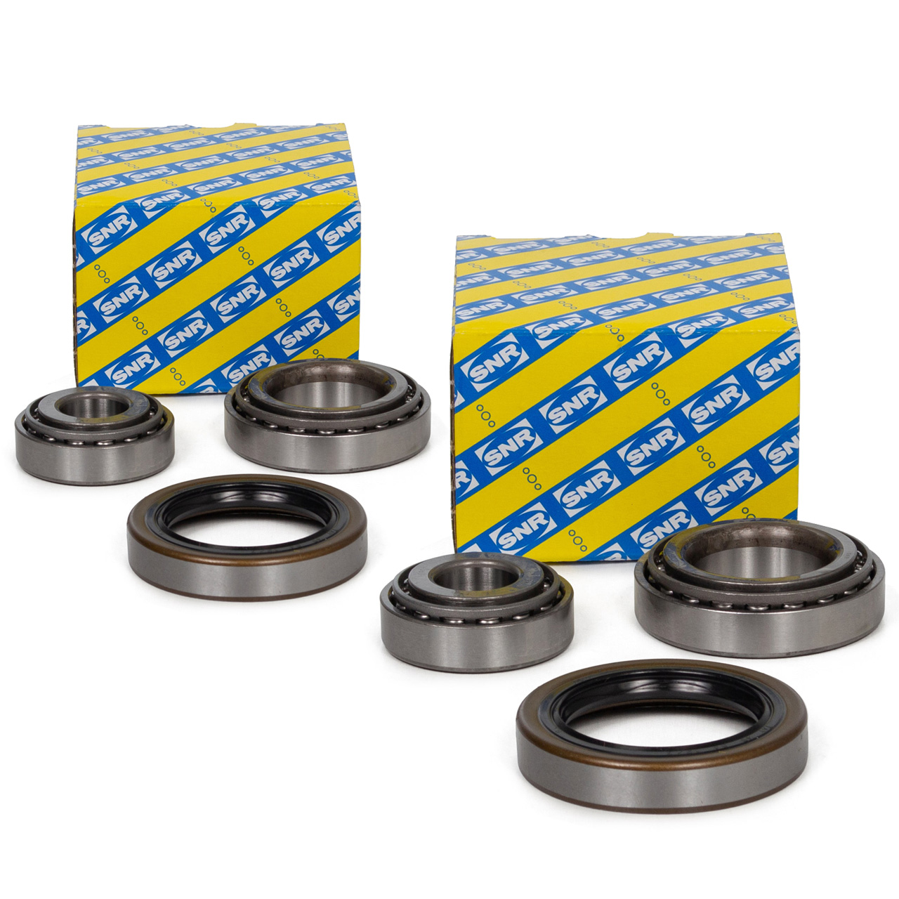 2x SNR R151.14 Radlagersatz MERCEDES 190 W201 E-Klasse W124 R107 vorne / hinten
