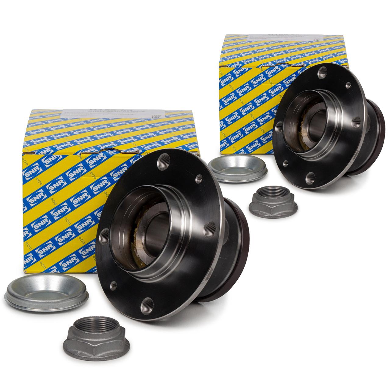 2x SNR R159.63 Radlagersatz CITROEN DS4 DS5 PEUGEOT 308 I RCZ hinten 3748.A5
