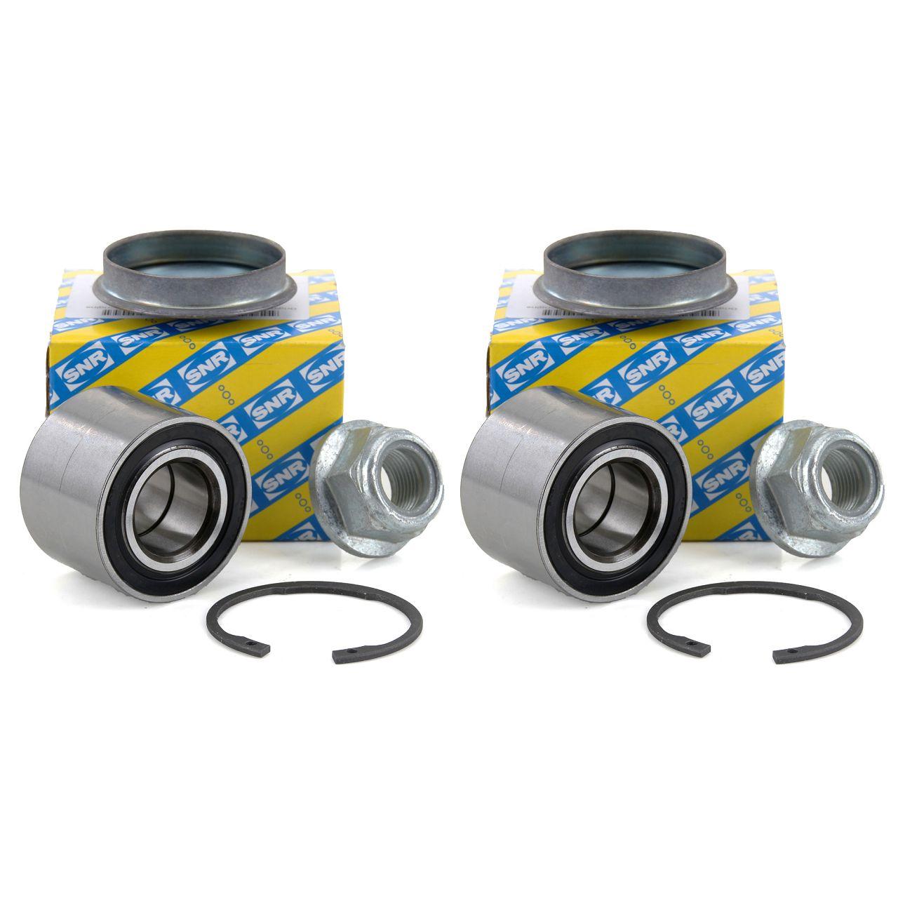 2x SNR R155.63 Radlagersatz RENAULT Clio Megane Twingo vorne / hinten
