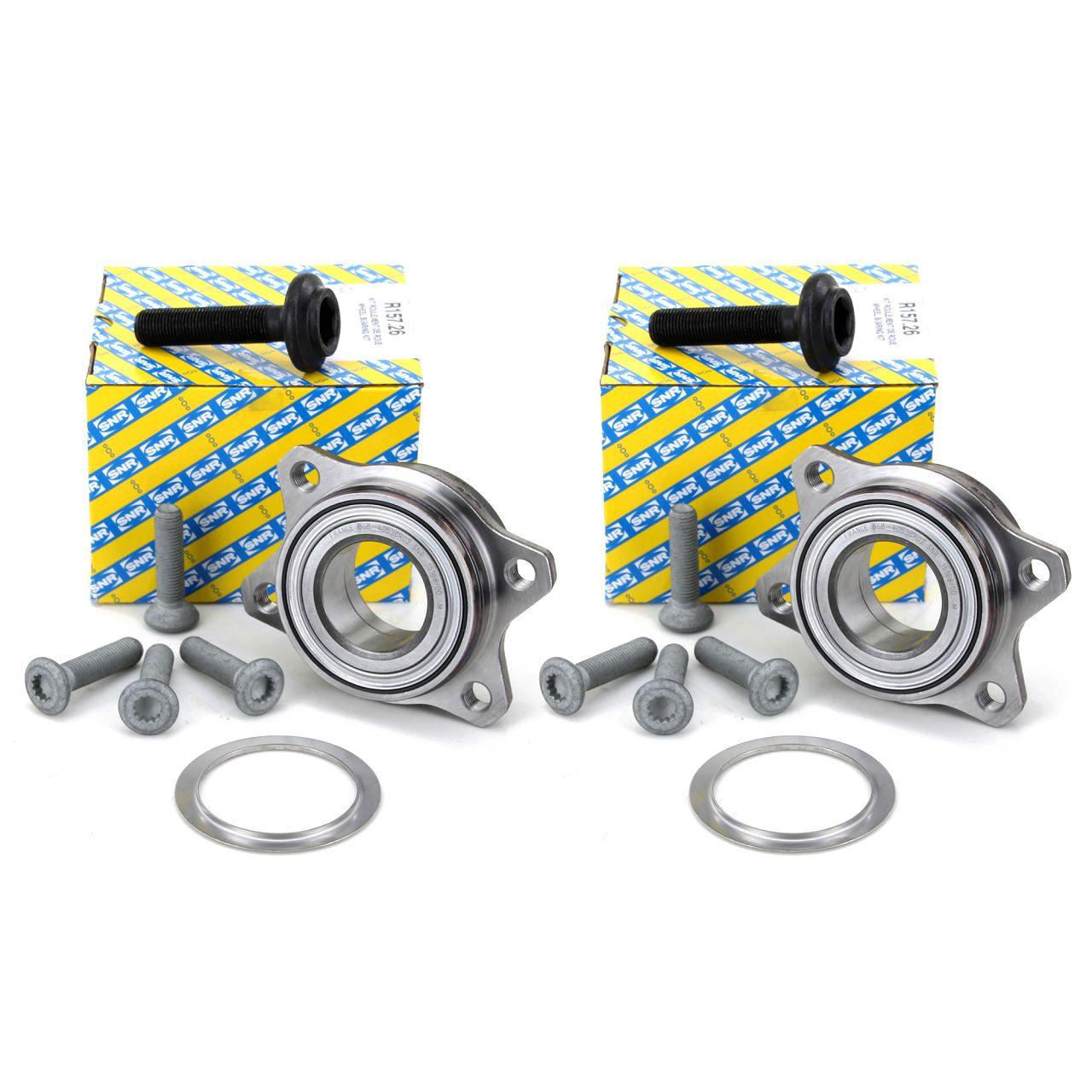 2x SNR Radnabe Radlager Rep.-Satz für AUDI A4 A6 A8 SEAT EXEO VW PASSAT vorne