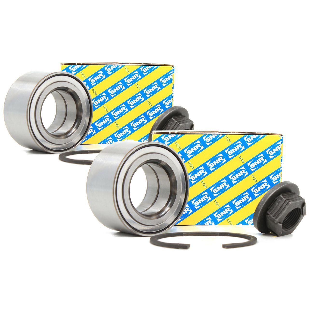 2x SNR Radlager Reparatursatz für FORD FIESTA V FOCUS I MK1 FUSION vorne R152.55