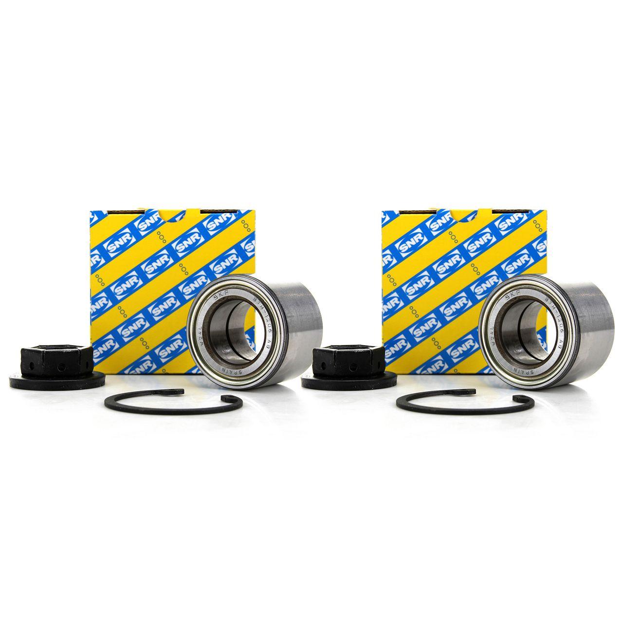 2x SNR Radlagersatz für Ford FIESTA V FOCUS I MK1 FUSION MAZDA 2 DE DY hinten