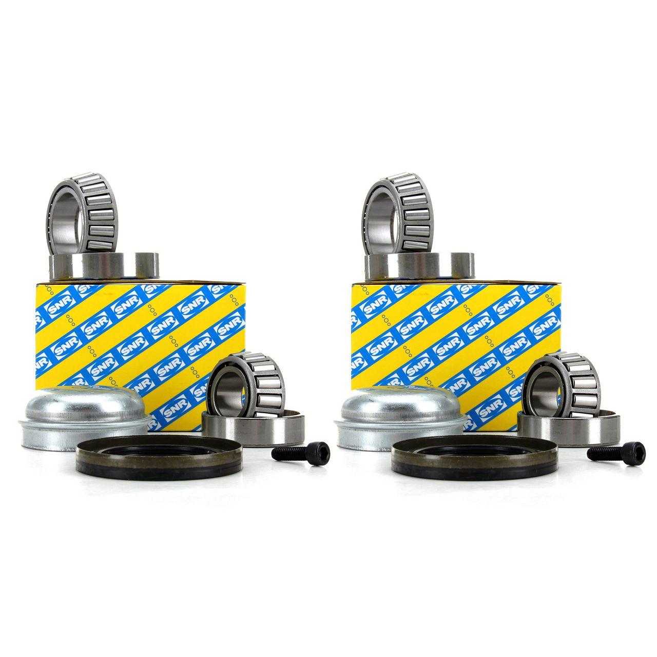 2x SNR Radlagersatz für MERCEDES W203 W204 C209 C207 R171 R172 vorne R151.36S