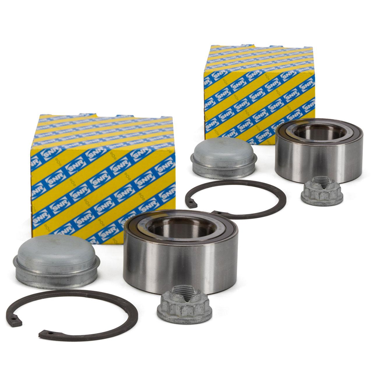 2x SNR R151.46 Radlagersatz MERCEDES A-/B-Klasse W169 W245 vorne 1699810006