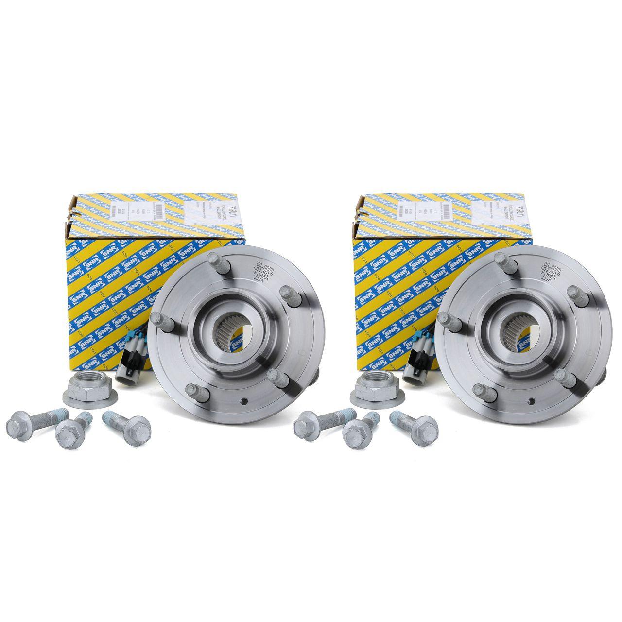 2x SNR R190.11 Radlagersatz OPEL Antara CHEVROLET Captiva (C100 C140) vorne