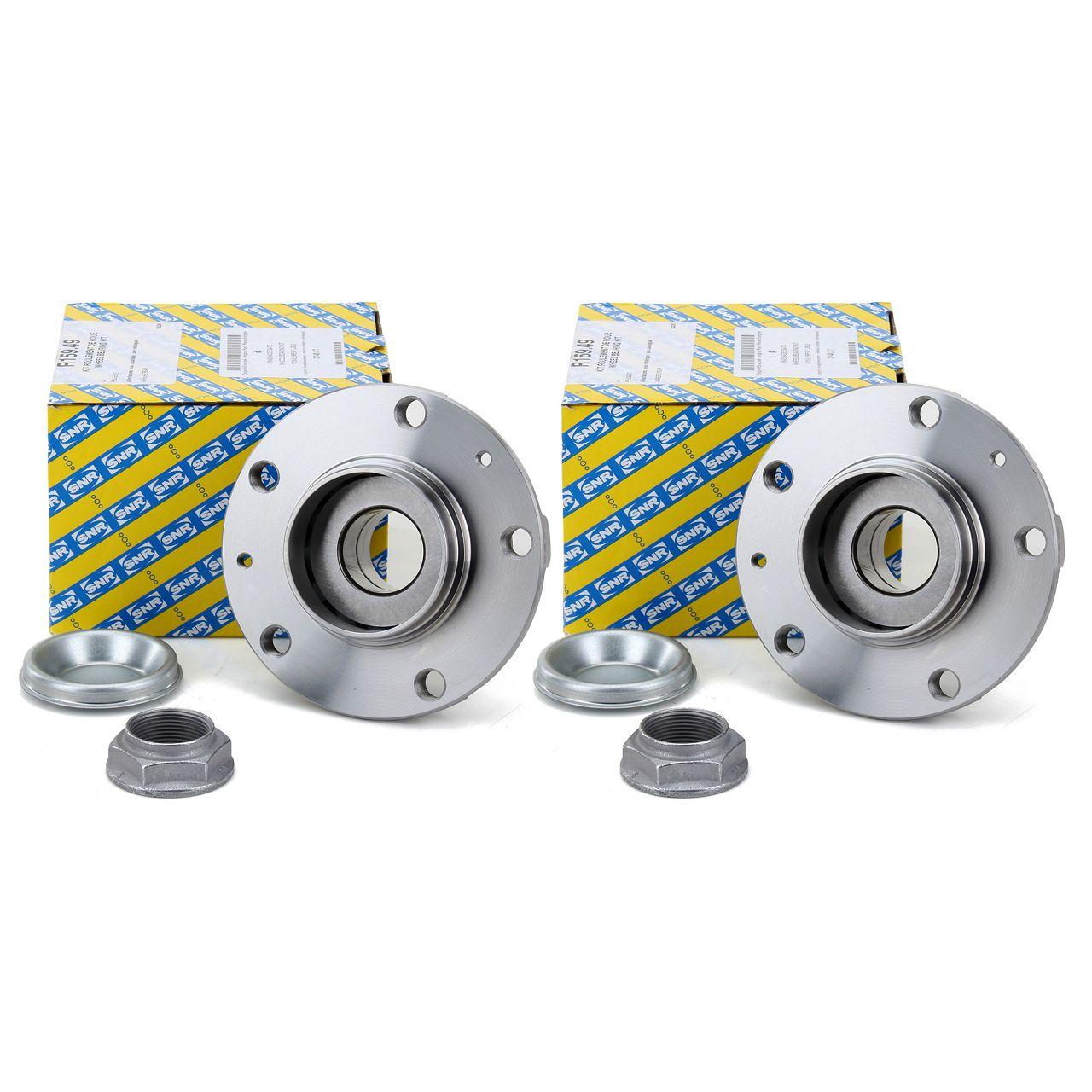 2x SNR R159.49 Radnabe Radlagersatz CITROEN C5 III C6 PEUGEOT 407 508 607 hinten 3748.87