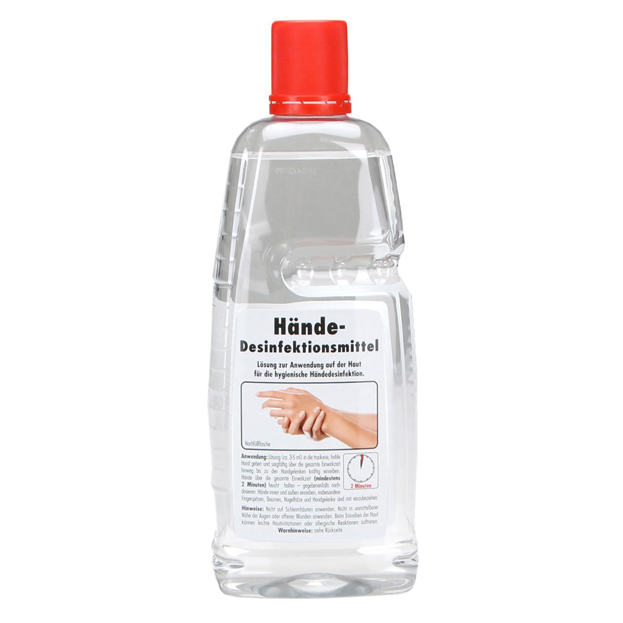 SONAX 401300 Desinfektionsmittel Handdesinfektionsmittel nach WHO 1 Liter