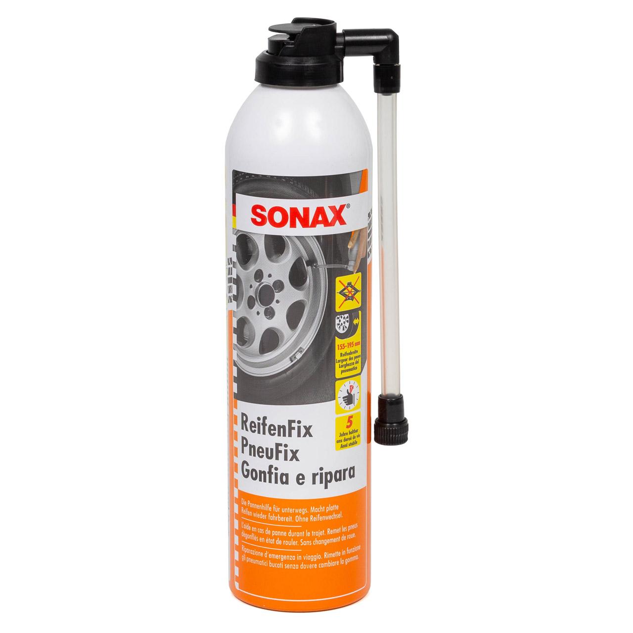 SONAX Auto-Reifenfix Reifen Reparatur Set Pannenhilfe 400ml 432300