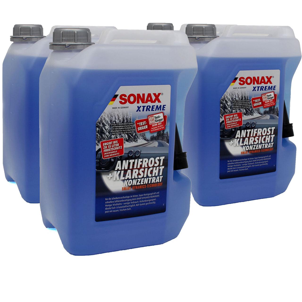 SONAX Xtreme Scheiben Frostschutz ANTIFROST & KLARSICHT Konzentrat - 20 Liter