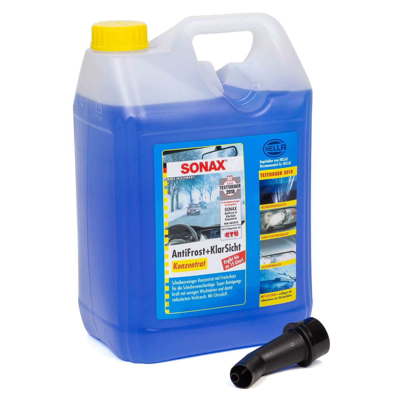SONAX 332505 Scheiben Frostschutz ANTIFROST & KLARSICHT Konzentrat - 20 Liter