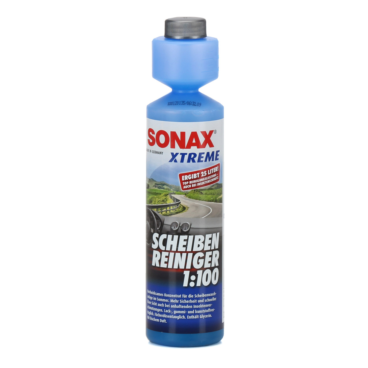 SONAX 271141 XTREME Scheiben Reiniger 1:100 NanoPro Scheiben Klar 250ml