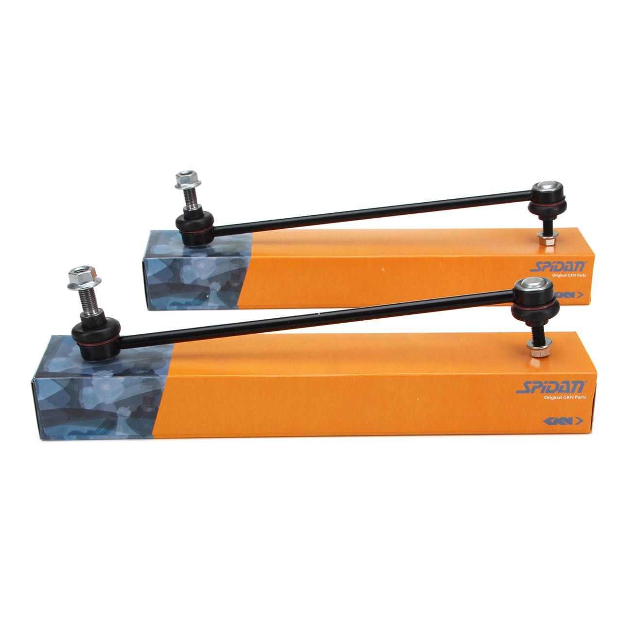 2x SPIDAN Koppelstange für VOLVO S80 I V70 II XC70 CROSS COUNTRY XC90 I vorne