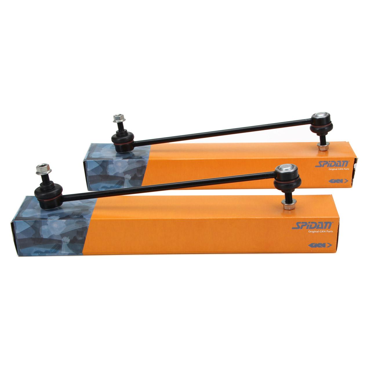 2x SPIDAN Koppelstange Pendelstütze für FIAT PANDA/CLASSIC + PANDA Van 169 vorne