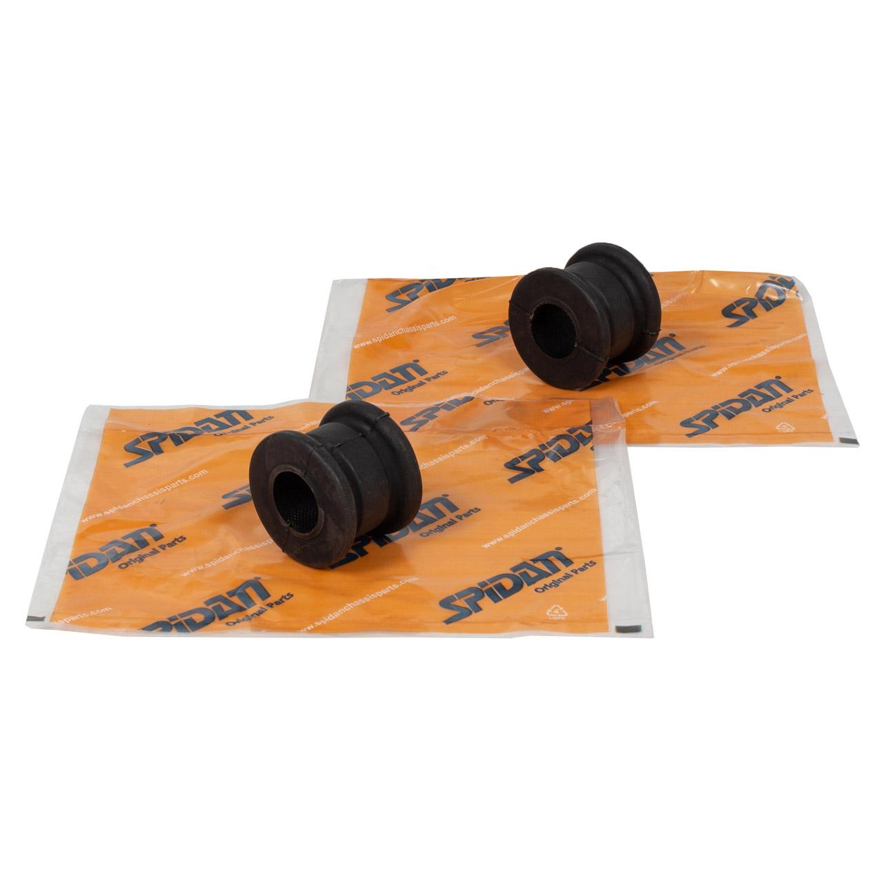 2x SPIDAN Stabilisatorlager MERCEDES W124 200-500 E 200-300 D/Turbo-D vorne 1243232785