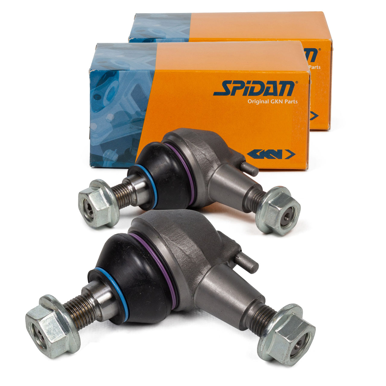 2x SPIDAN Traggelenk MERCEDES CLS C218 X218 E-KLASSE W212 S212 vorne unten 2123300135
