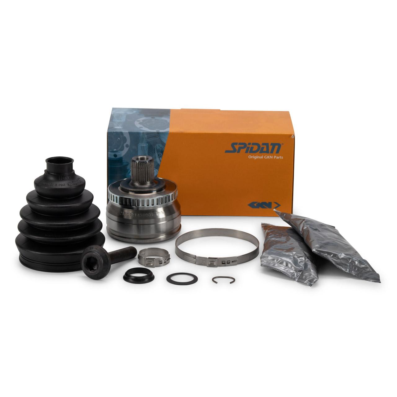 SPIDAN Antriebsgelenk Gelenksatz AUDI A4 B5 VW Passat 3B SKODA vorne radseitig 3B0498099DX