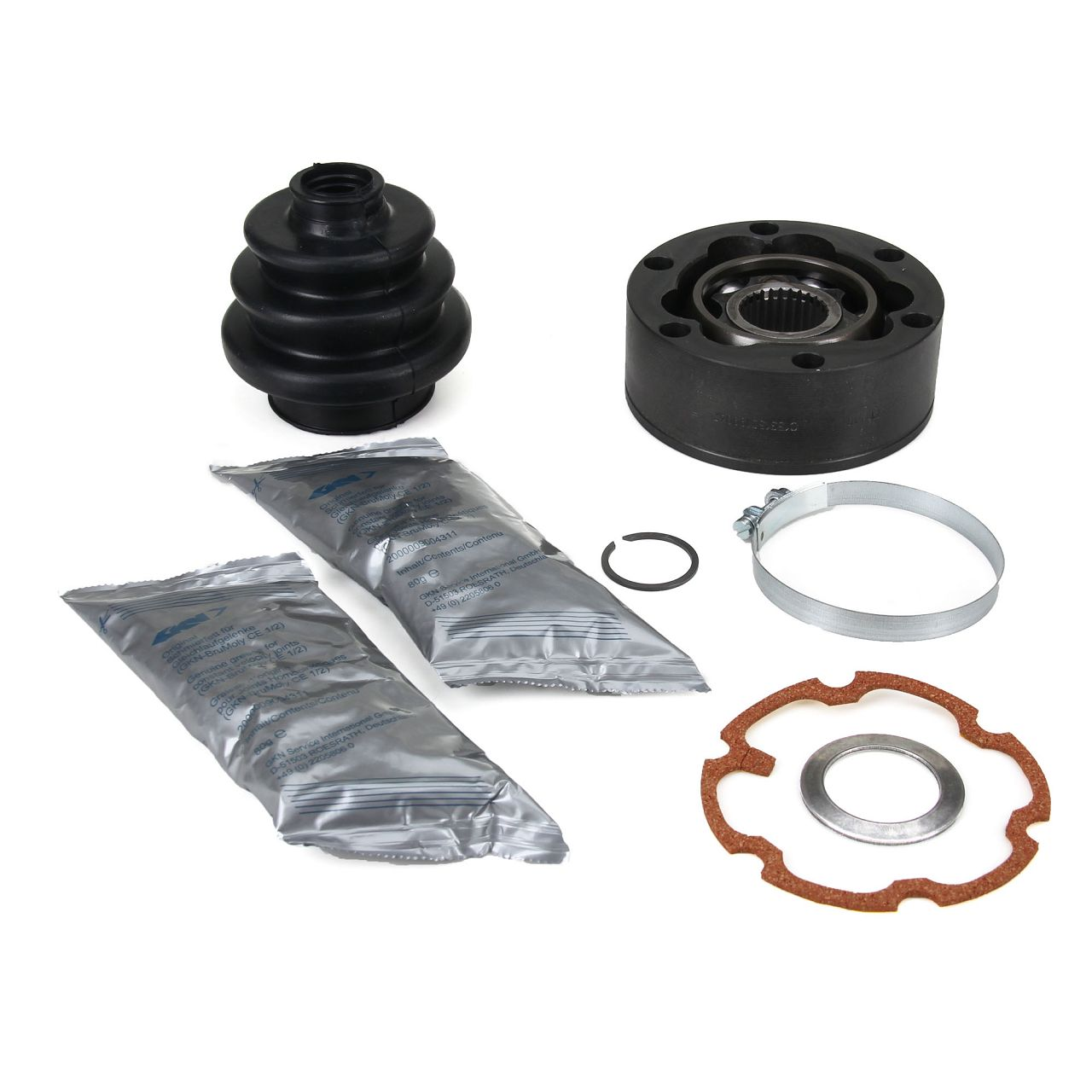 2x SPIDAN Antriebsgelenk für PORSCHE 911 -3.3 SC hinten radseitig getriebeseitig