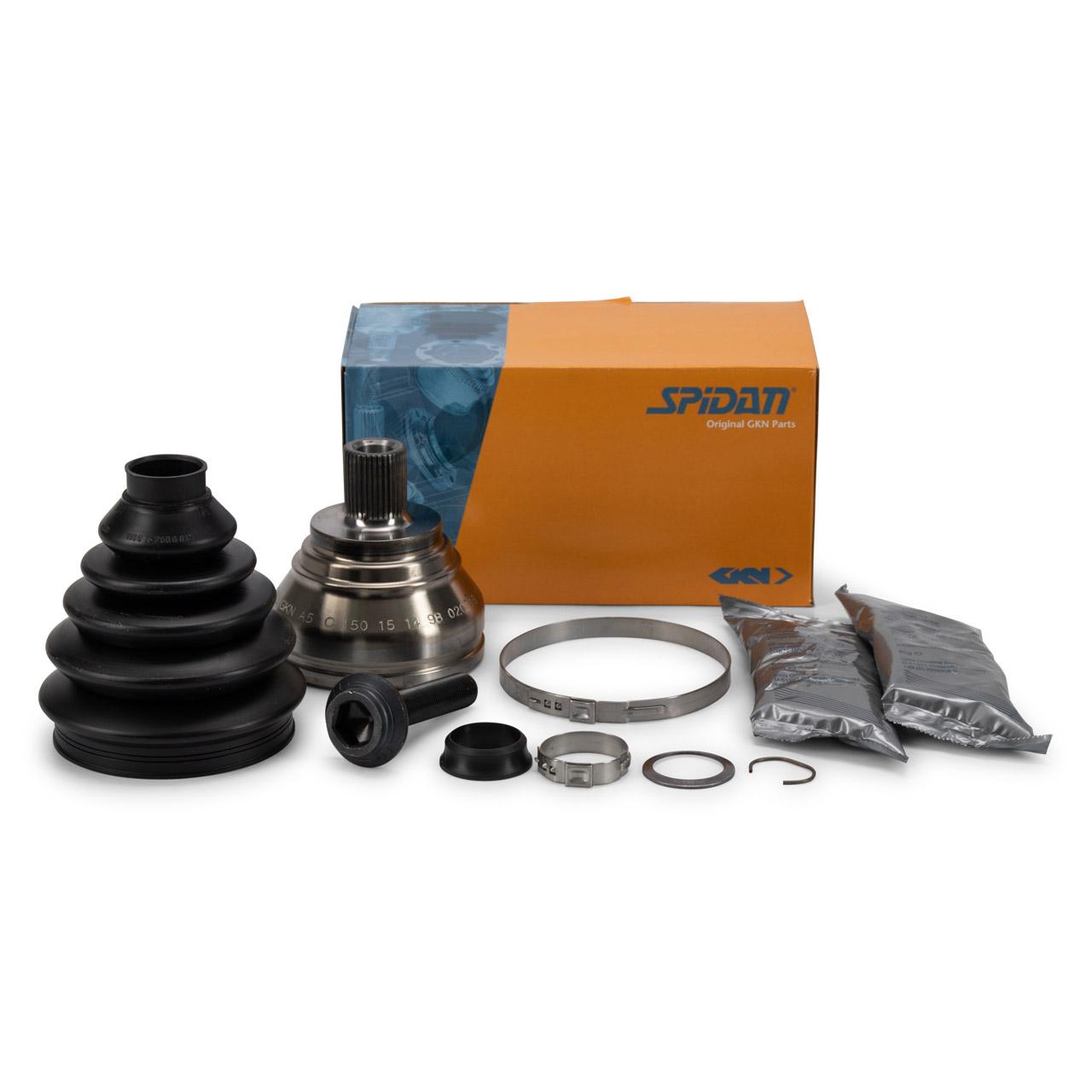 SPIDAN Antriebsgelenk Gelenksatz AUDI A1 A3 Q3 VW Golf 5 6 Eos vorne radseitig 1K0498099J