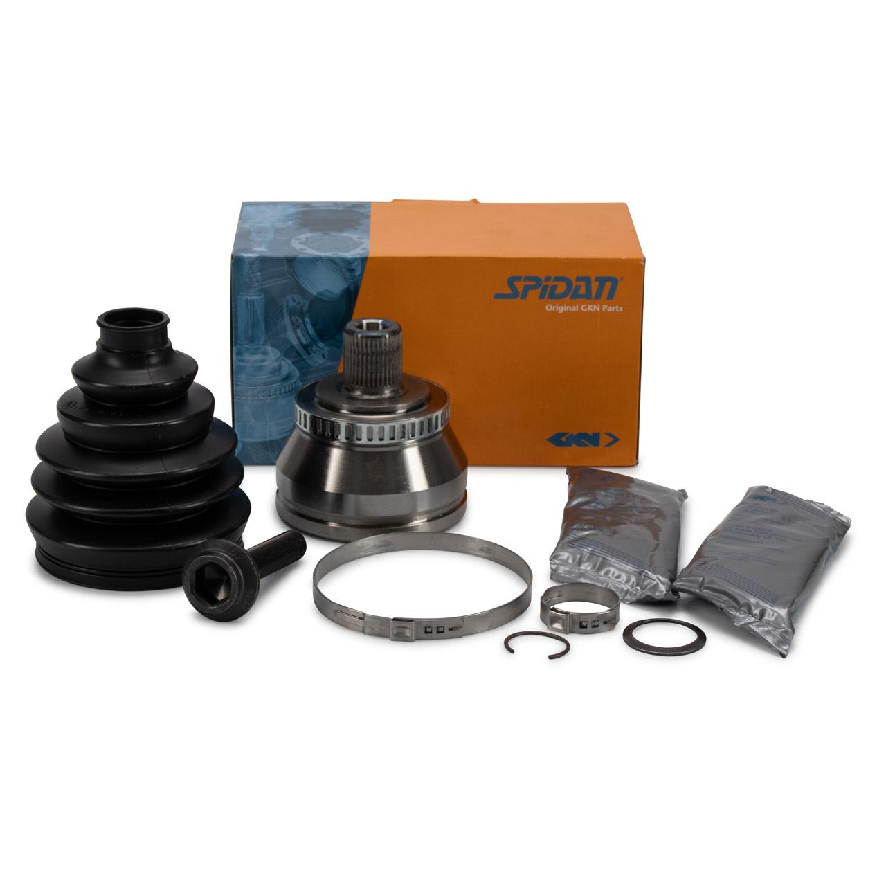 SPIDAN Antriebsgelenk Gelenksatz AUDI A4 B6 B7 SEAT Exeo 3R vorne radseitig 8E0498099C