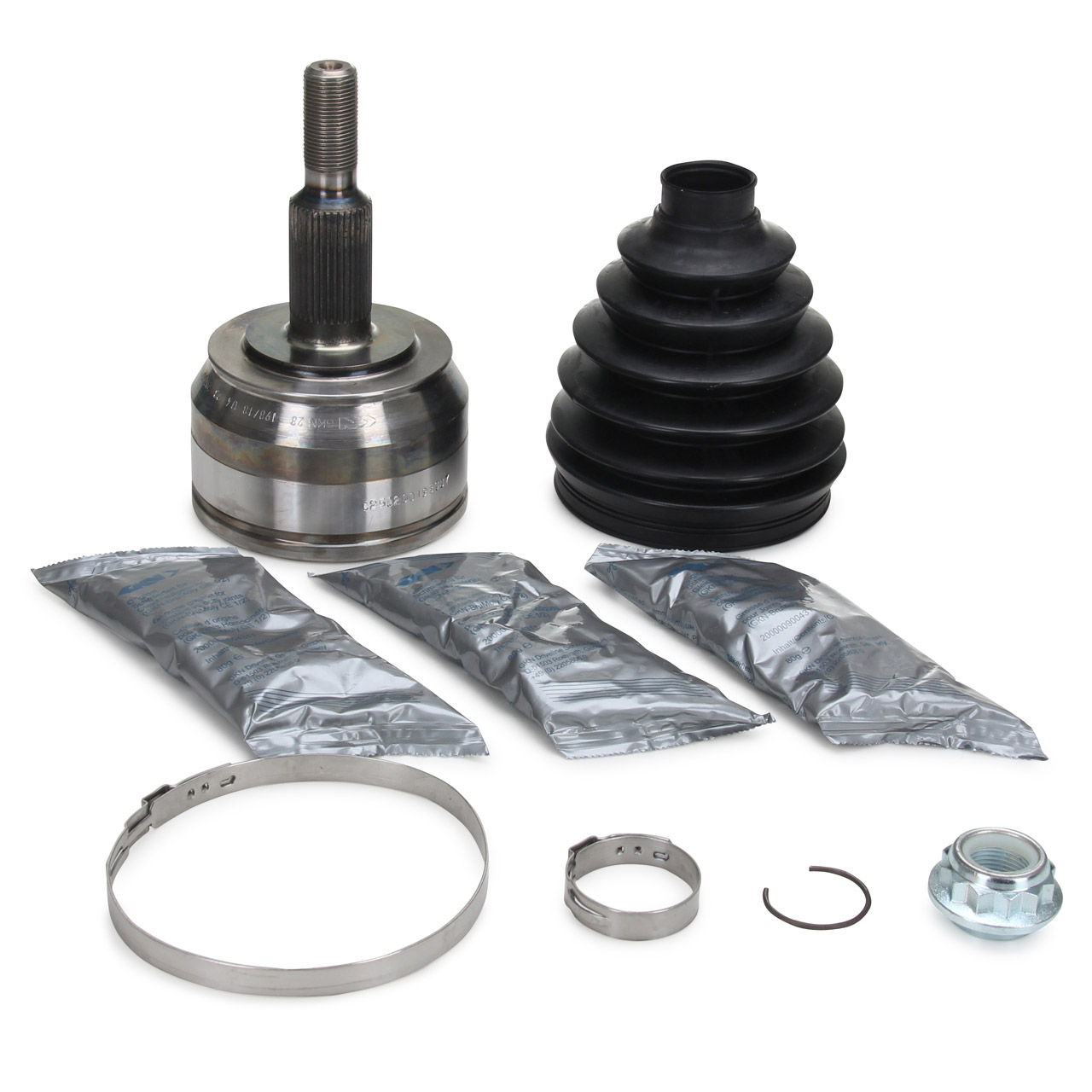 SPIDAN Antriebsgelenk Gelenksatz SEAT Altea 1.8 VW T5 2.0-3.2 vorne radseitig 7H0498099BX