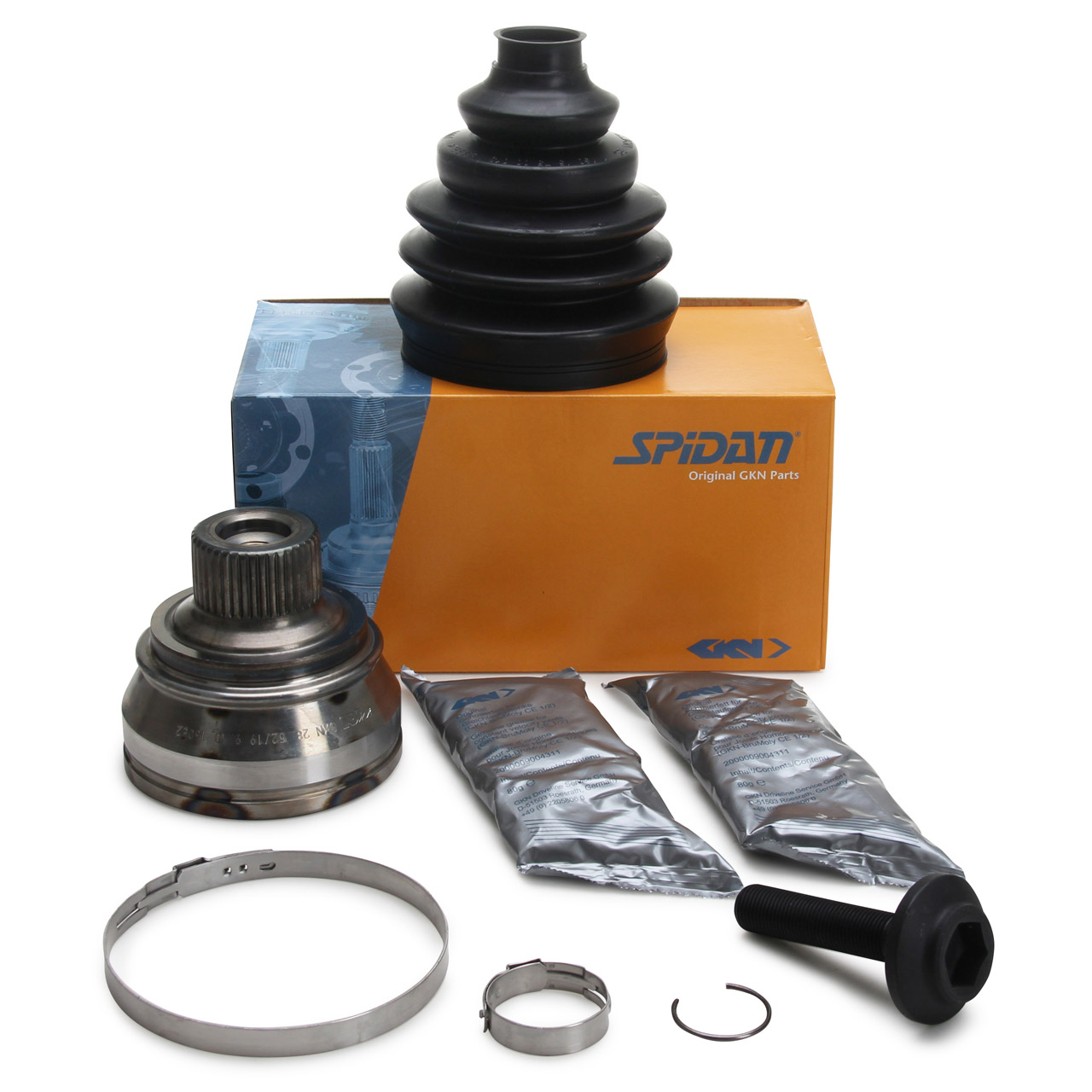 SPIDAN Antriebsgelenk Gelenksatz AUDI A4 B8 A5 8T 8F Q8 8RB A8 vorne radseitig 8K0498099DX
