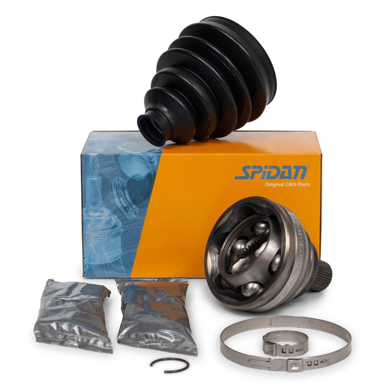 SPIDAN Antriebsgelenk Gelenksatz AUDI A3 Q3 VW Golf 5 6 Touran vorne radseitig 5N0498099D