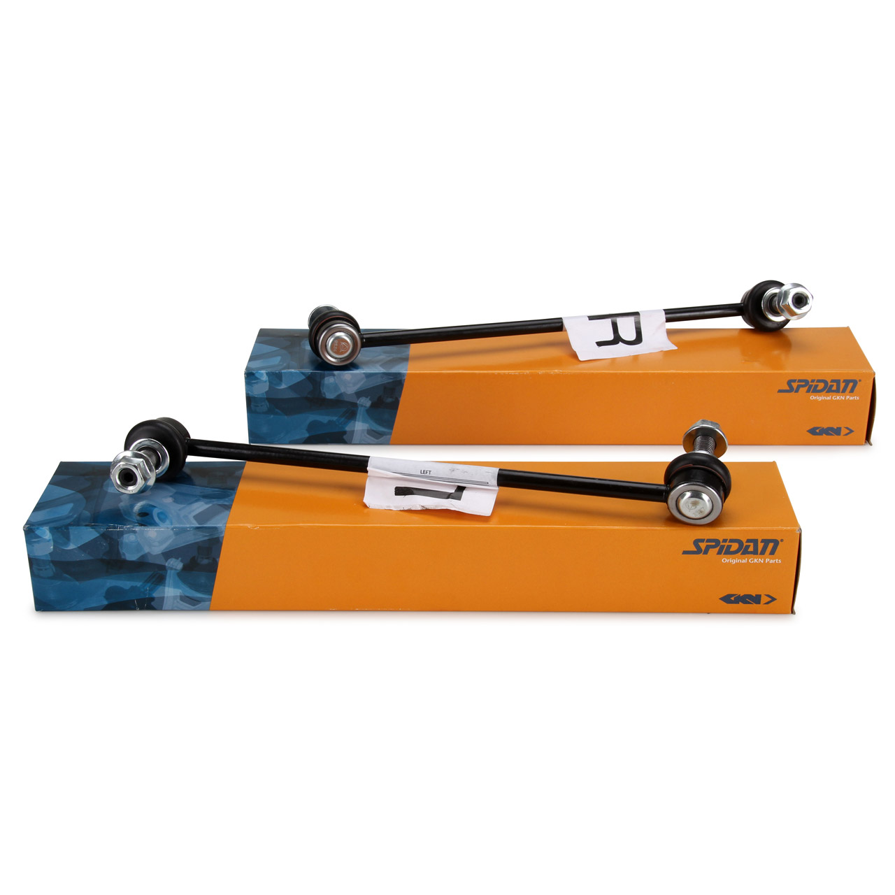 2x SPIDAN Koppelstange Stabilisatorstange Stabistange für OPEL ASTRA K vorne