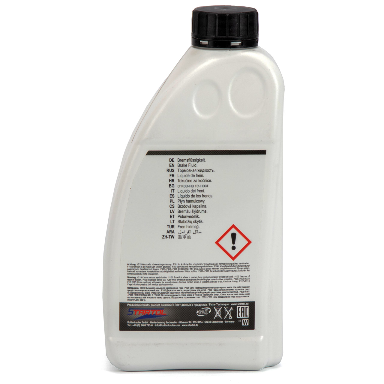 STARTOL Dolgan DOT 4 LV Hochleistungs-Bremsflüssigkeit synthetisch - 1L 1 Liter