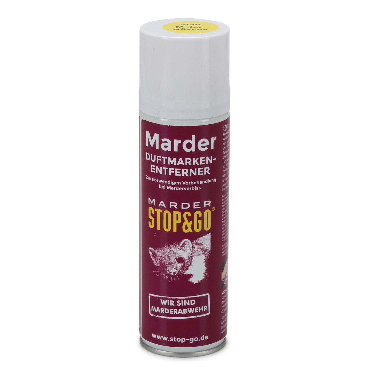 STOP & GO Marderabwehr Duftmarken-Entferner Spray Marderschreck 300ml 07503