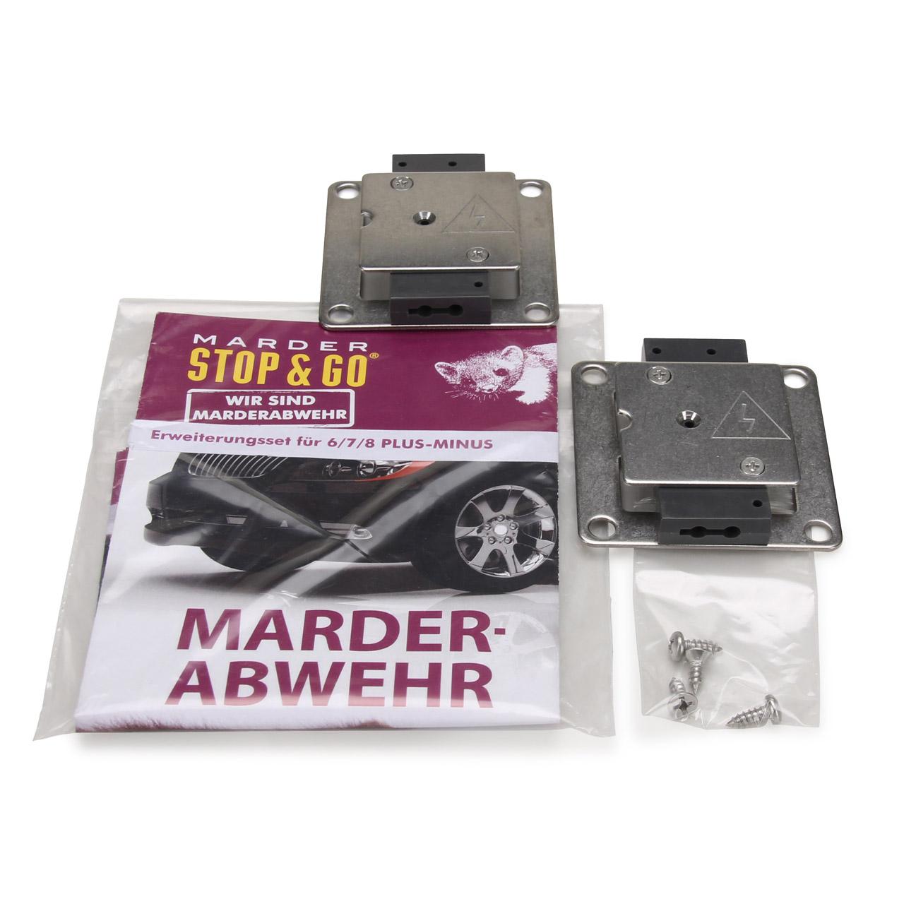 STOP & GO Marderabwehrgerät Erweiterungssatz Typ 6 7 8 Plus-Minus 07507