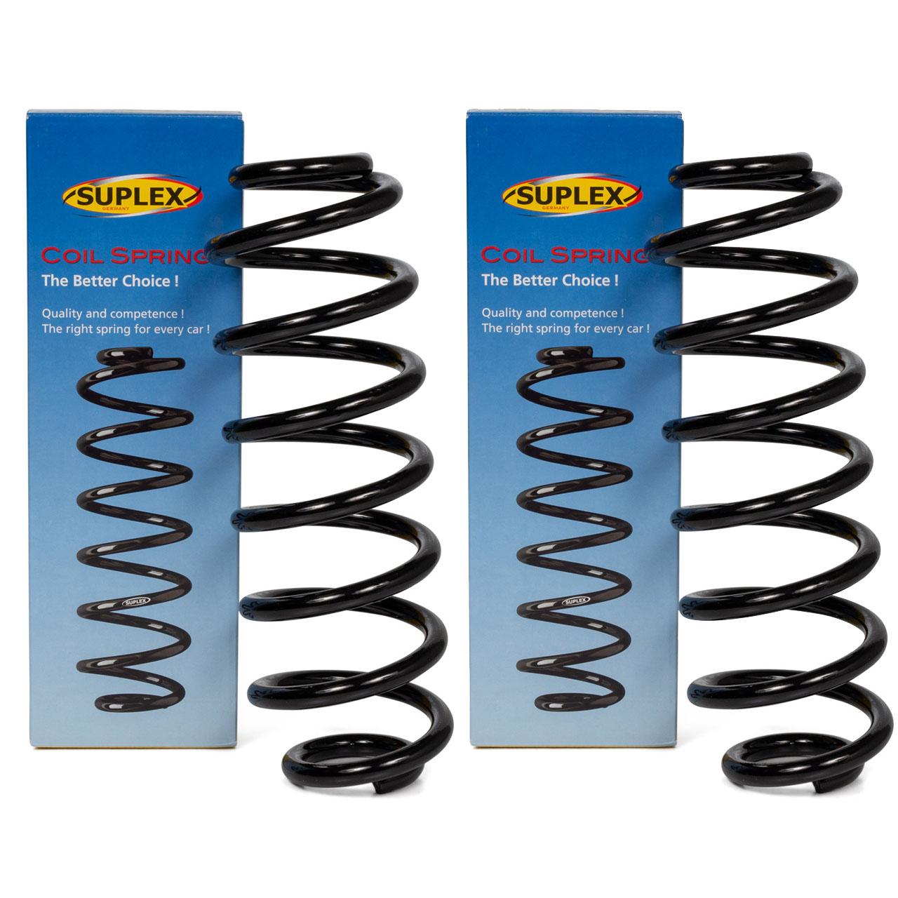 2x SUPLEX Fahrwerksfeder für VW PASSAT 362 TOURAN 1T1 1T2 1.4 2.0 EcoFuel hinten