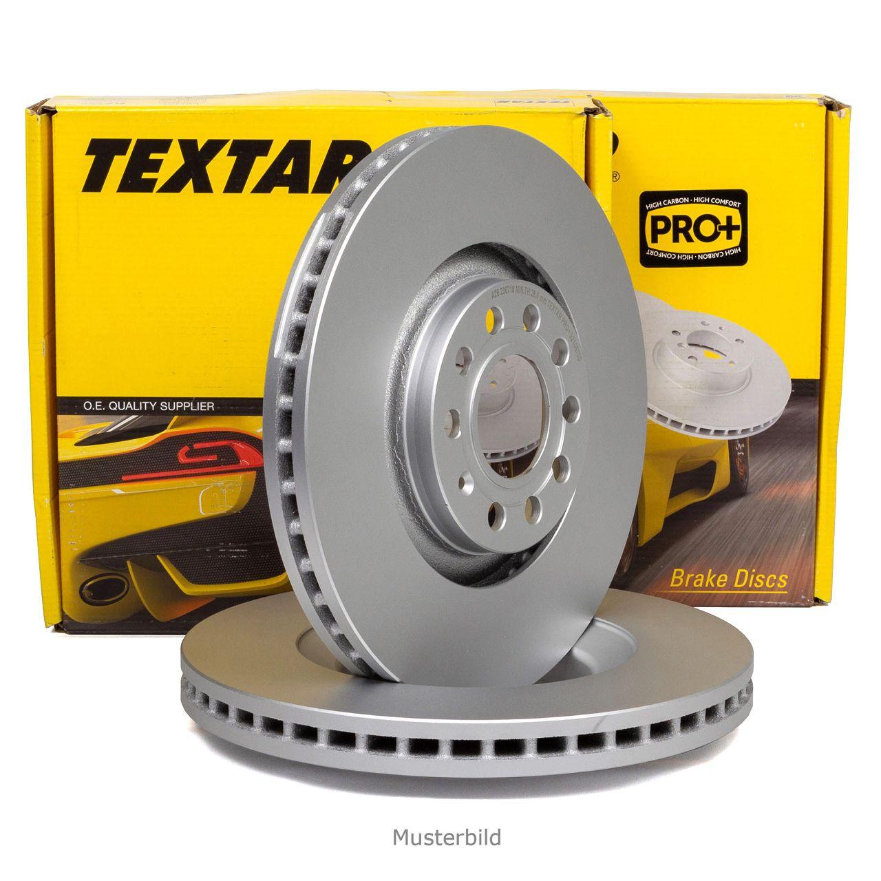 Textar Bremsscheiben 320 mm Textar Bremsbeläge vorne Audi A6 Allroad